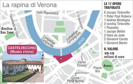 Furto Verona FotoAnsa