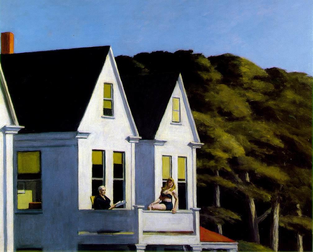 Hopper2 second story sunlight