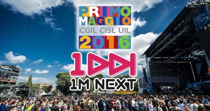 1m next 2016 contest 1 maggio