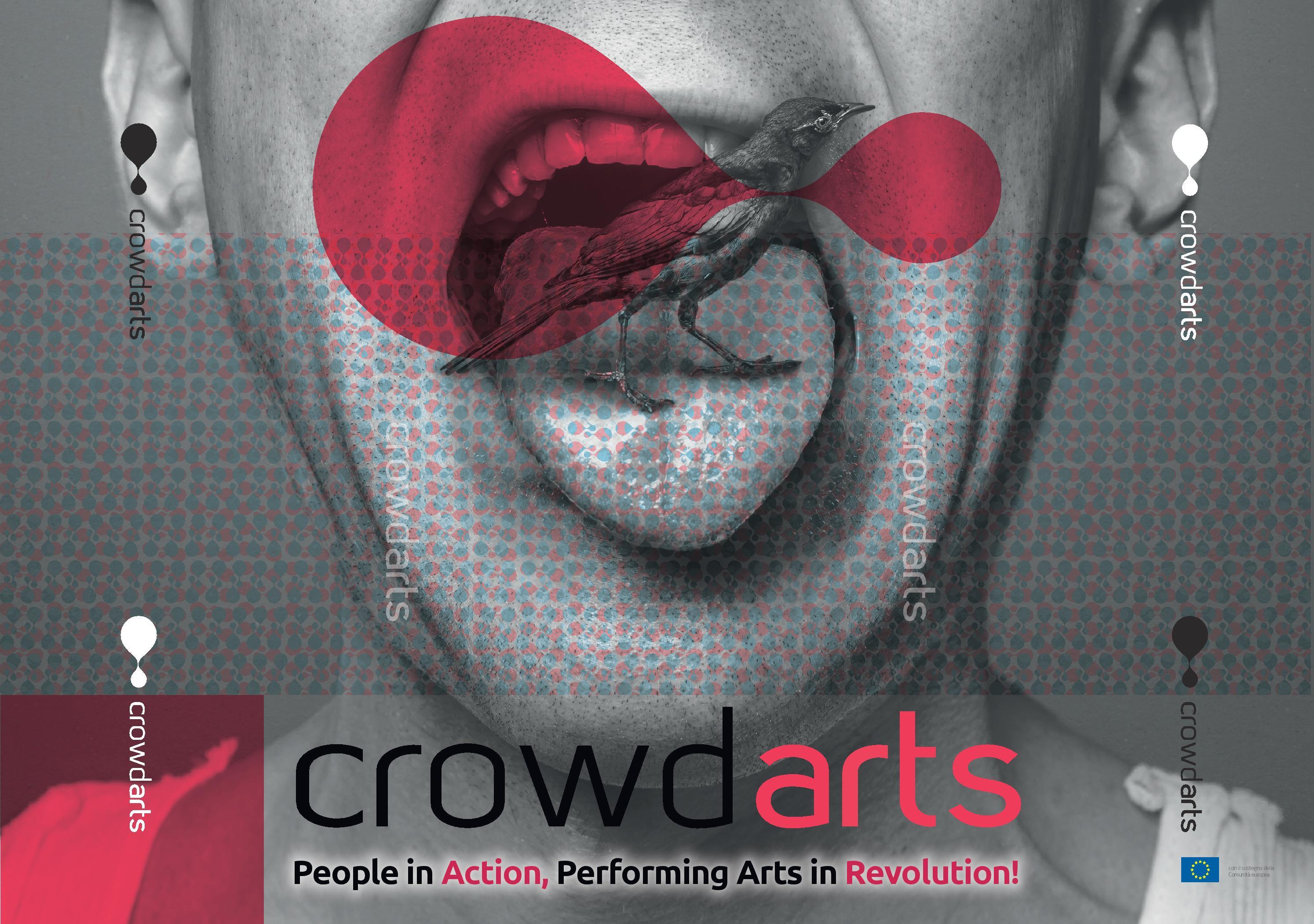 Cartolina manifesto Crowdarts