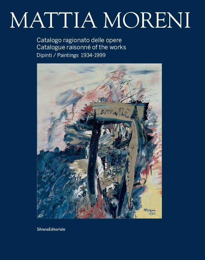 Catalogo Mattia Moreni copertina