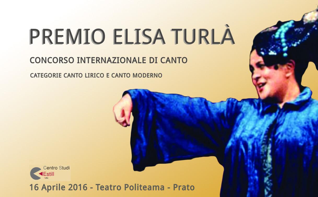 Locandina Premio ElisaTurl