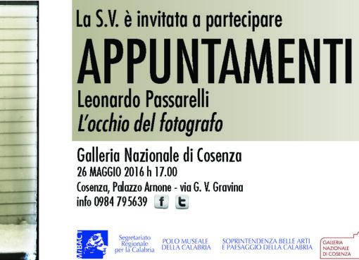 Galleria Nazionale Cosenza Leonardo Passarelli