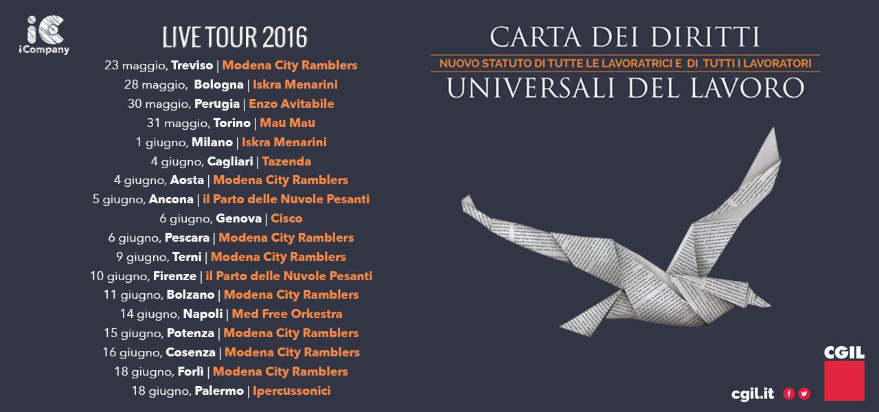 LiveTour CartaDeiDiritti