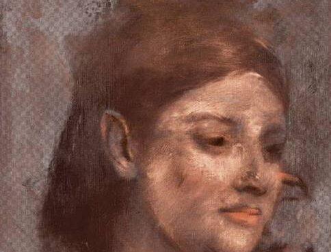 Ritratto donna Degas