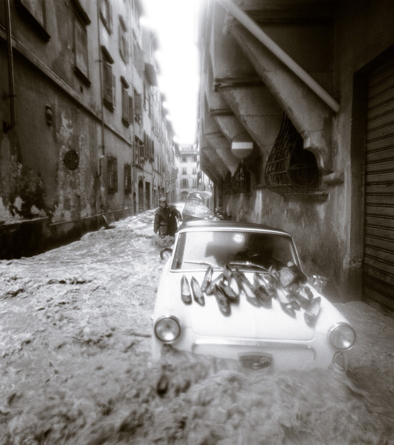 Balthazar Korab Strada fiorentina 4 Novembre1966