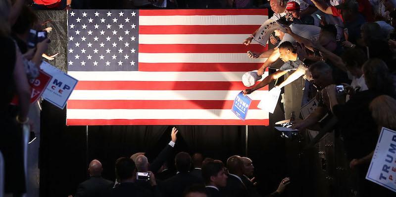 campagna elettorale trump clinton 341