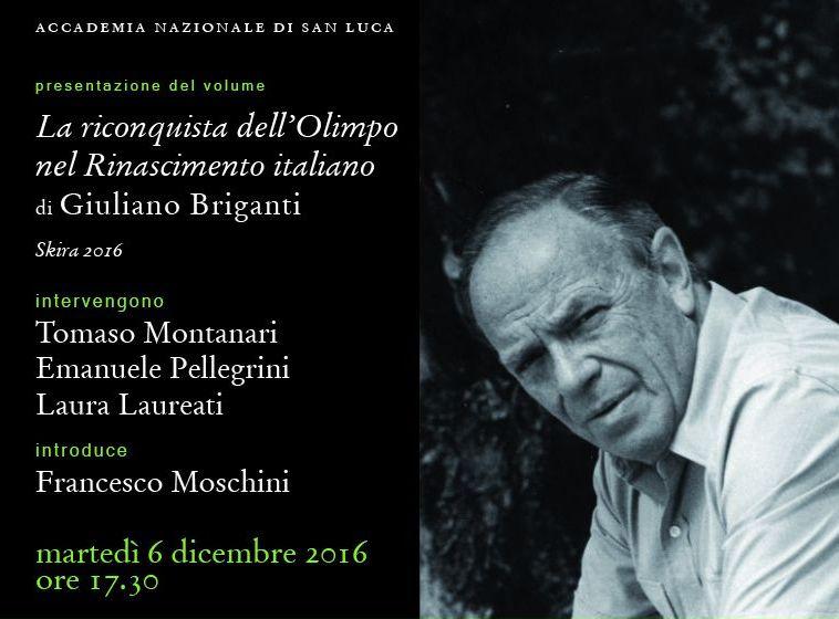 Invito Giuliano Briganti