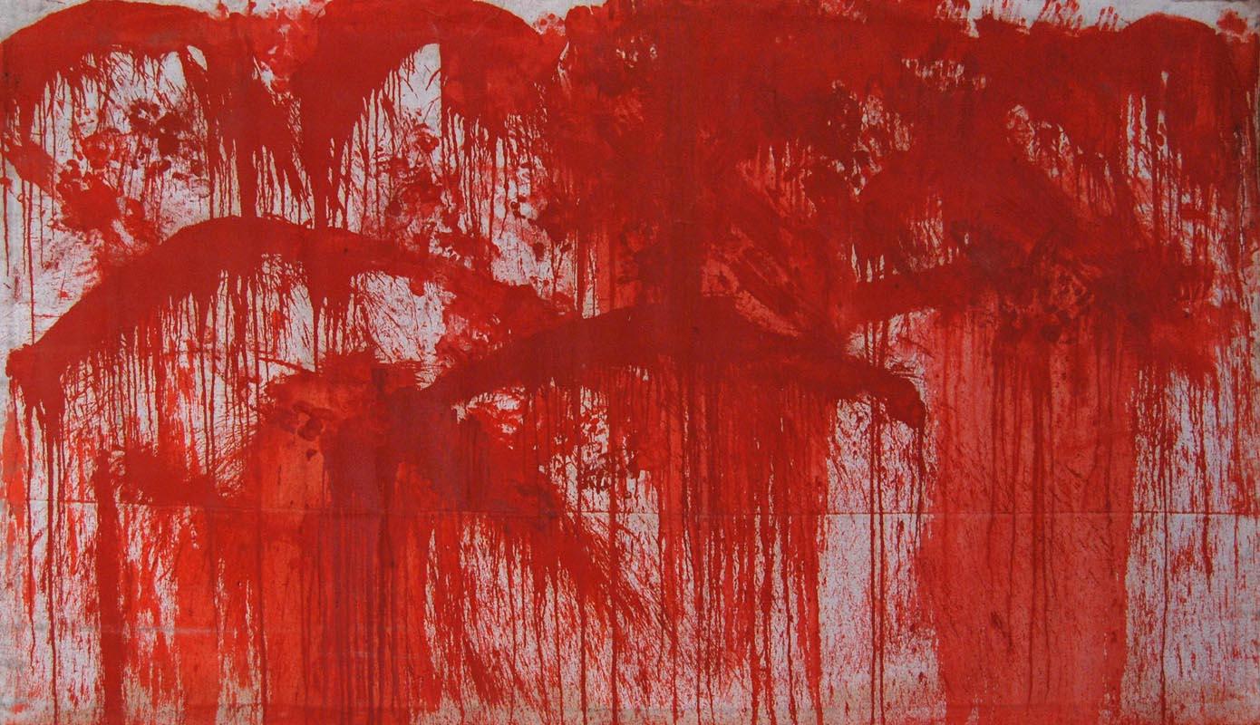La provocatoria arte di Hermann Nitsch