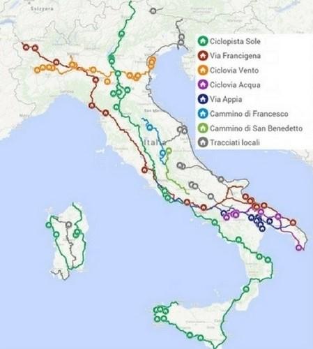 camminipercorsi mappa