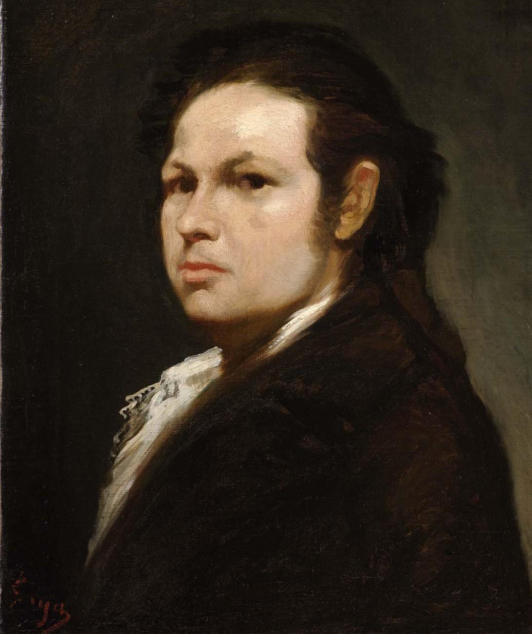 Goya Autoritratto