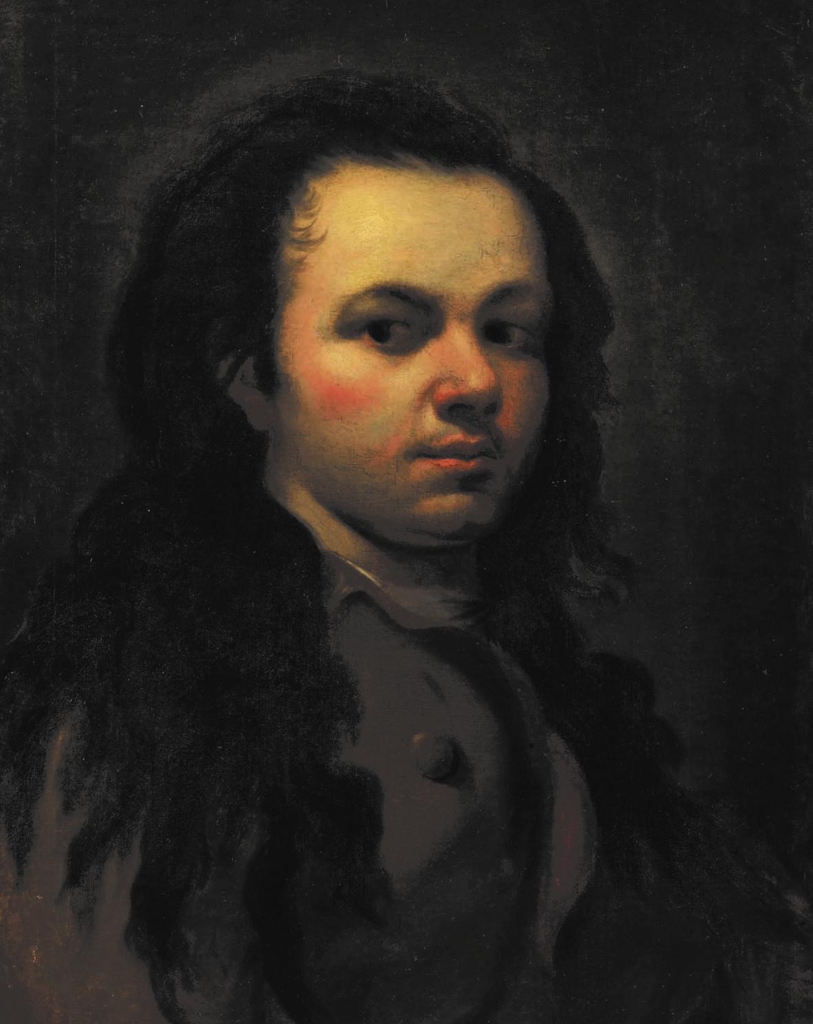 Goya Autoritratto giovanile