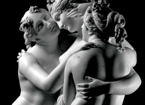 Jodice Canova Le tre Grazie San Pietroburgo Ermitage