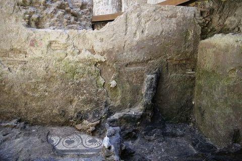 Mosaico Scavi Roma