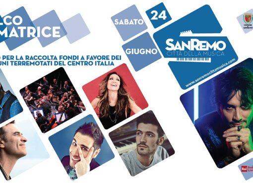 Sanremo palco per Amatrice