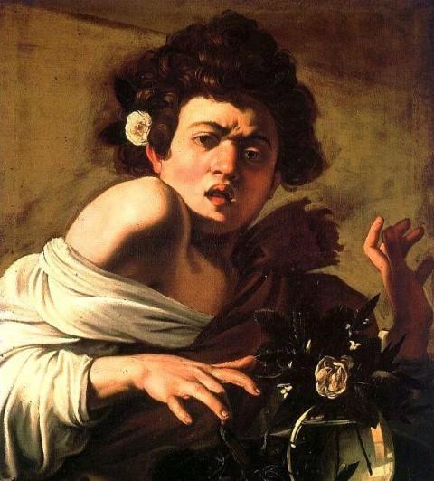 Caravaggio Fanciullo ramarro