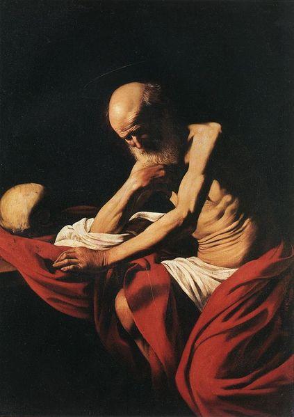 Caravaggio Jerome Meditation
