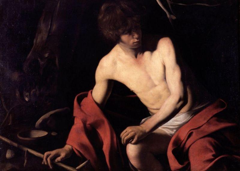 Caravaggio San Giovannino