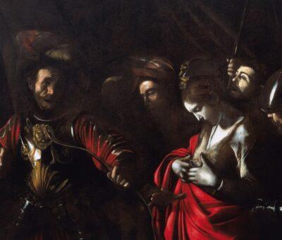Caravaggio Martirio santOrsola