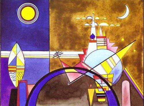 Kandinsky Cage mostra
