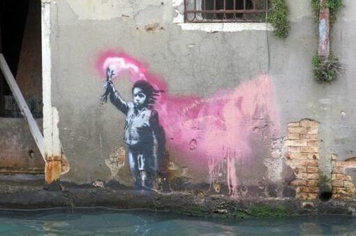 Banksy Venezia-2