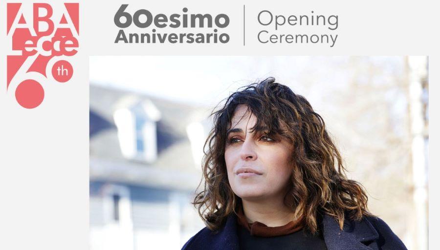 60° anniversario di Aba Lecce, inaugurazione con Marinella Senatore